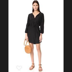 Joie Black Saxona Dress. Size XS. NWT.